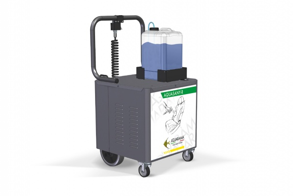AquaSany- R - Sanitizer included of movable trolley kit
