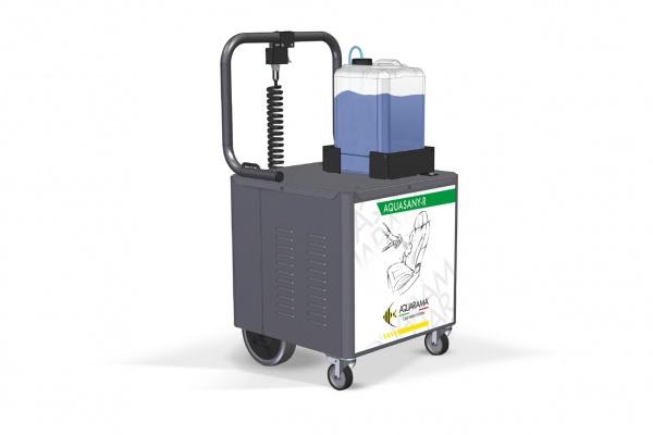 AquaSany-R - Innenreiniger auf Rädern