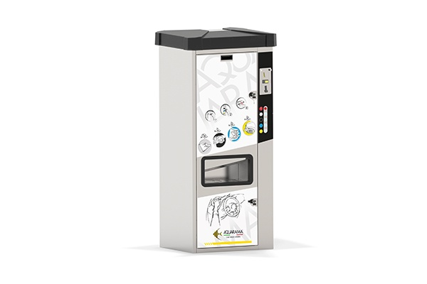 Humidified cloth dispenser Aquarama